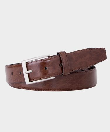 BELT SOLID BROWN
