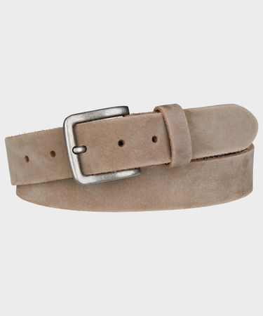 BELT WASHED BROWN