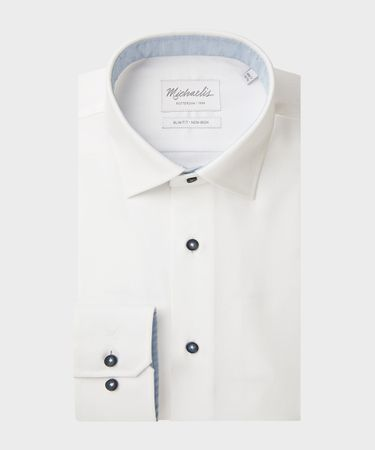 SHIRT KENT SF SCC WHITE