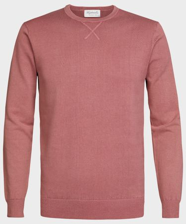 PULLOVER CREWNECK OLD PINK